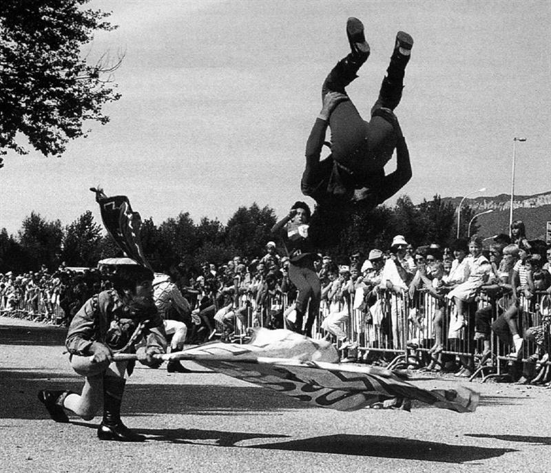 1982 Francia Aix Le Bains Festa fiori (1)
