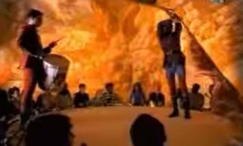 """Sbandieratori di Arezzo presenti nel video """"Jovanotti – L'ombelico del Mondo"""""""