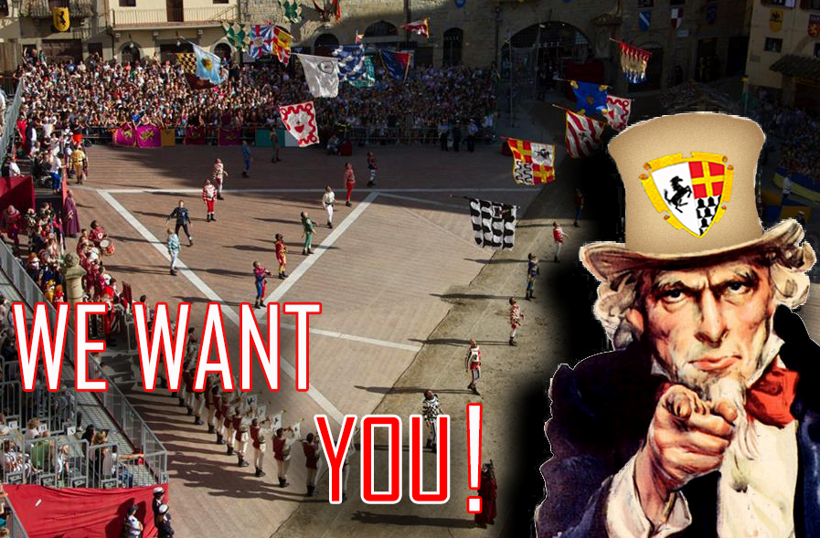 WE WANT YOU 2015