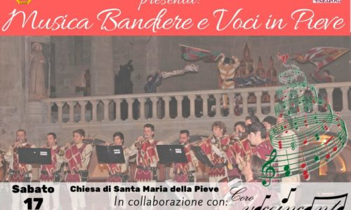 Musica Bandiere e Voci in Pieve 2016